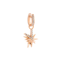 Load image into Gallery viewer, Single Antwerp Star Gold Earring