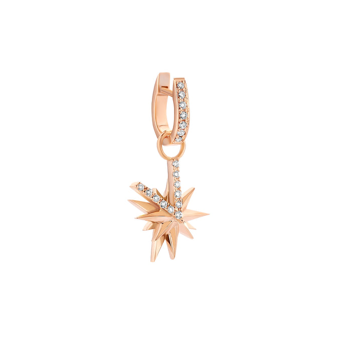 Antwerp Star Rosé Gold Earring