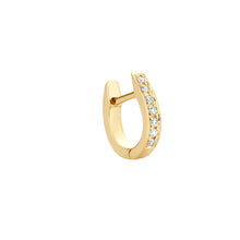 Load image into Gallery viewer, Single Monaco Gold Earring