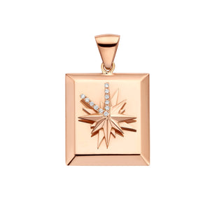 Sicily Rose Gold Pendant