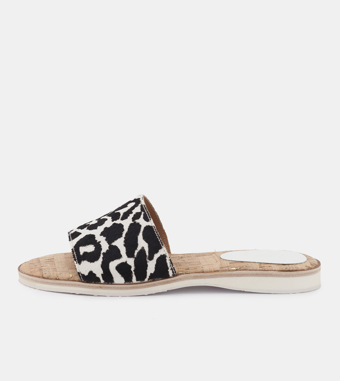 Sandal Slide White Wild Cat