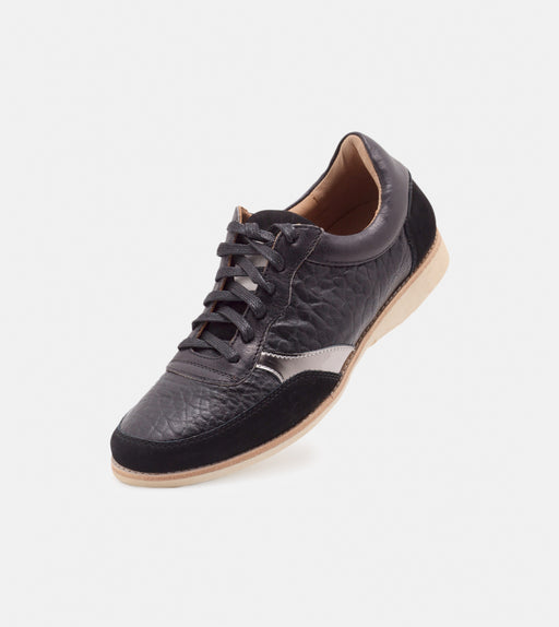 Trainer Black Tumble/Pewter