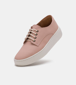 Derby City Snow Pink Leather