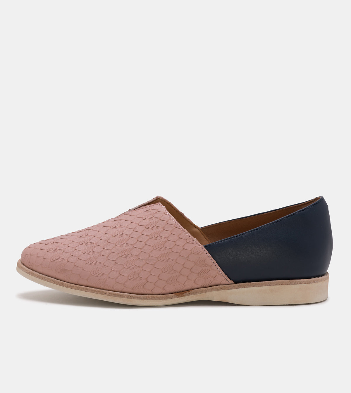 Madison V-Cut Snow Pink Geo/Navy