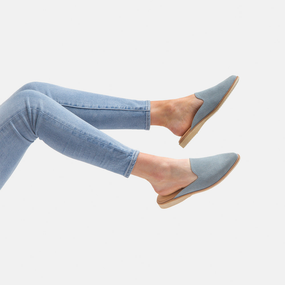 Madison Mule Denim