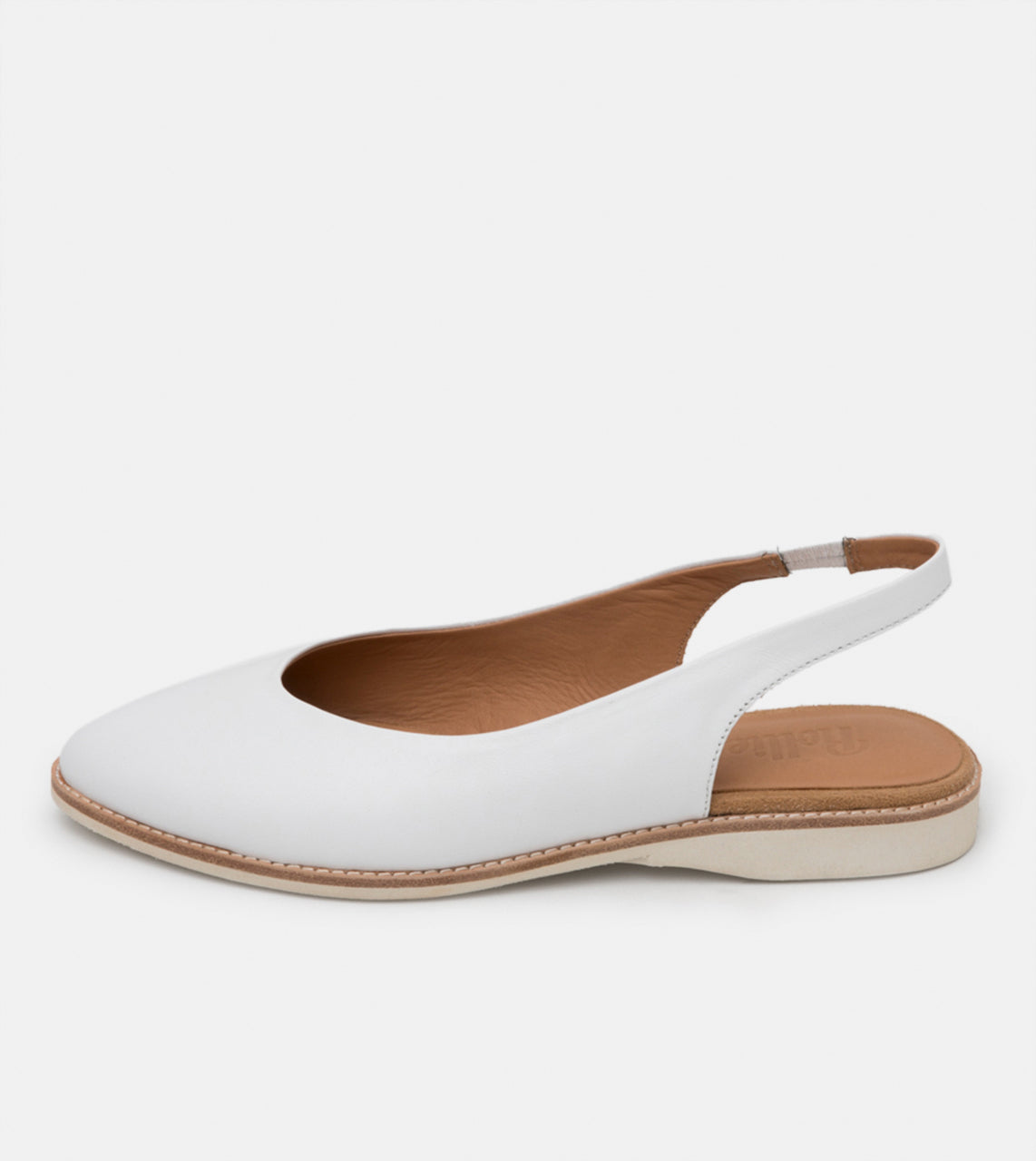 Madison Slingback White