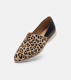 Madison V-Cut Camel Leopard/Black
