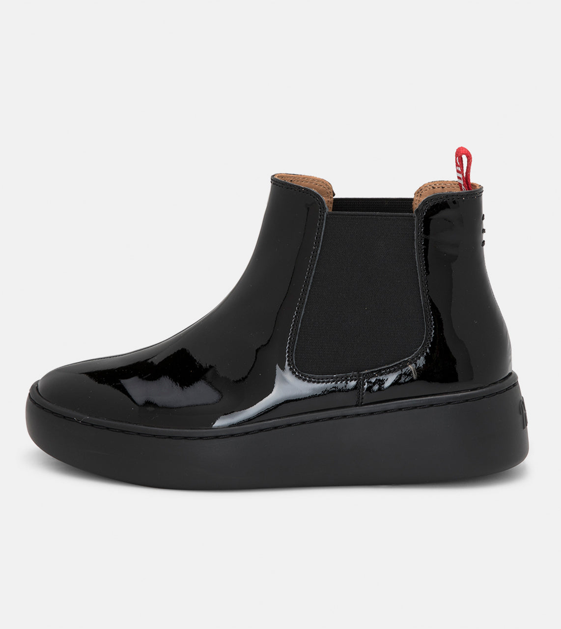 Chelsea City All Black Patent