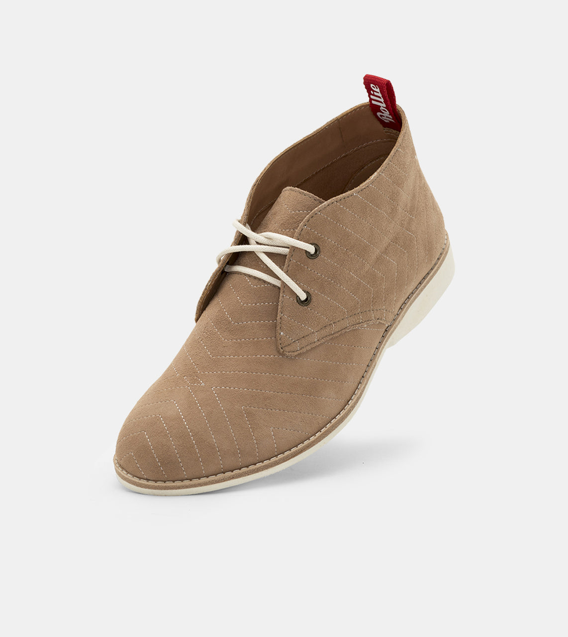 Chukka Embroidered Taupe