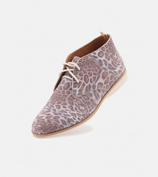 Chukka Faded Brown Leopard