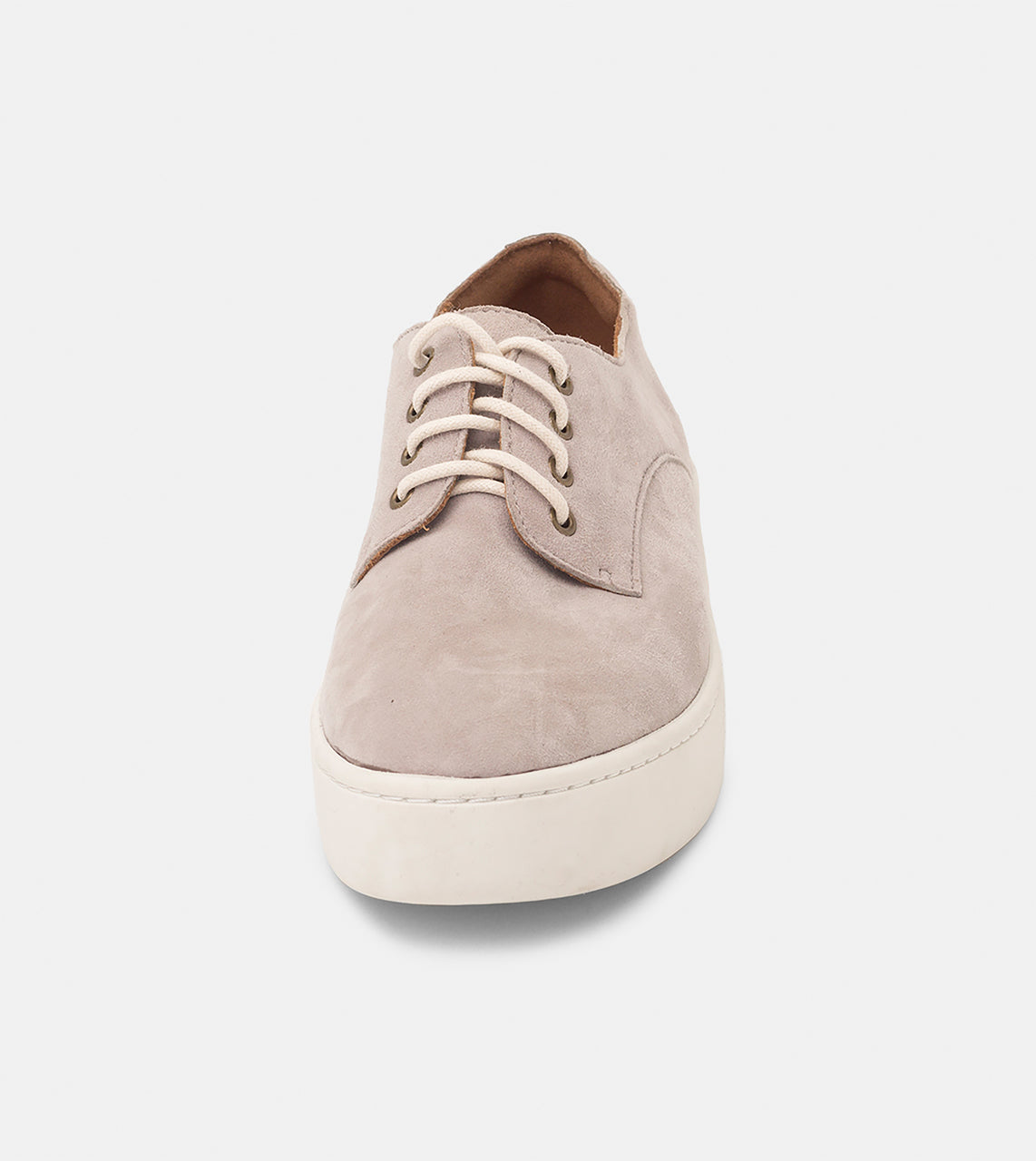 Derby City Grey Kid Suede