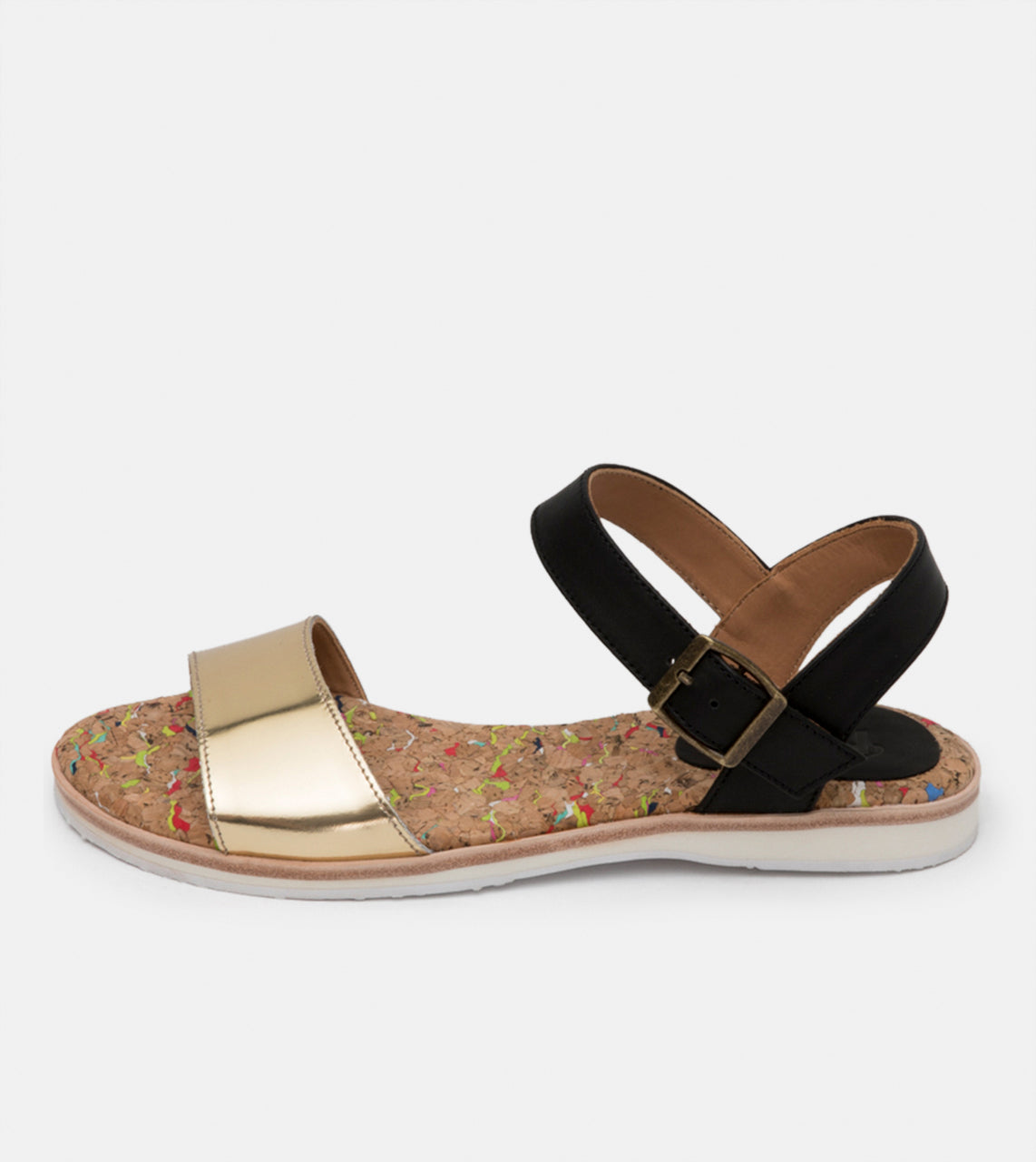 Sandal Gold/Black
