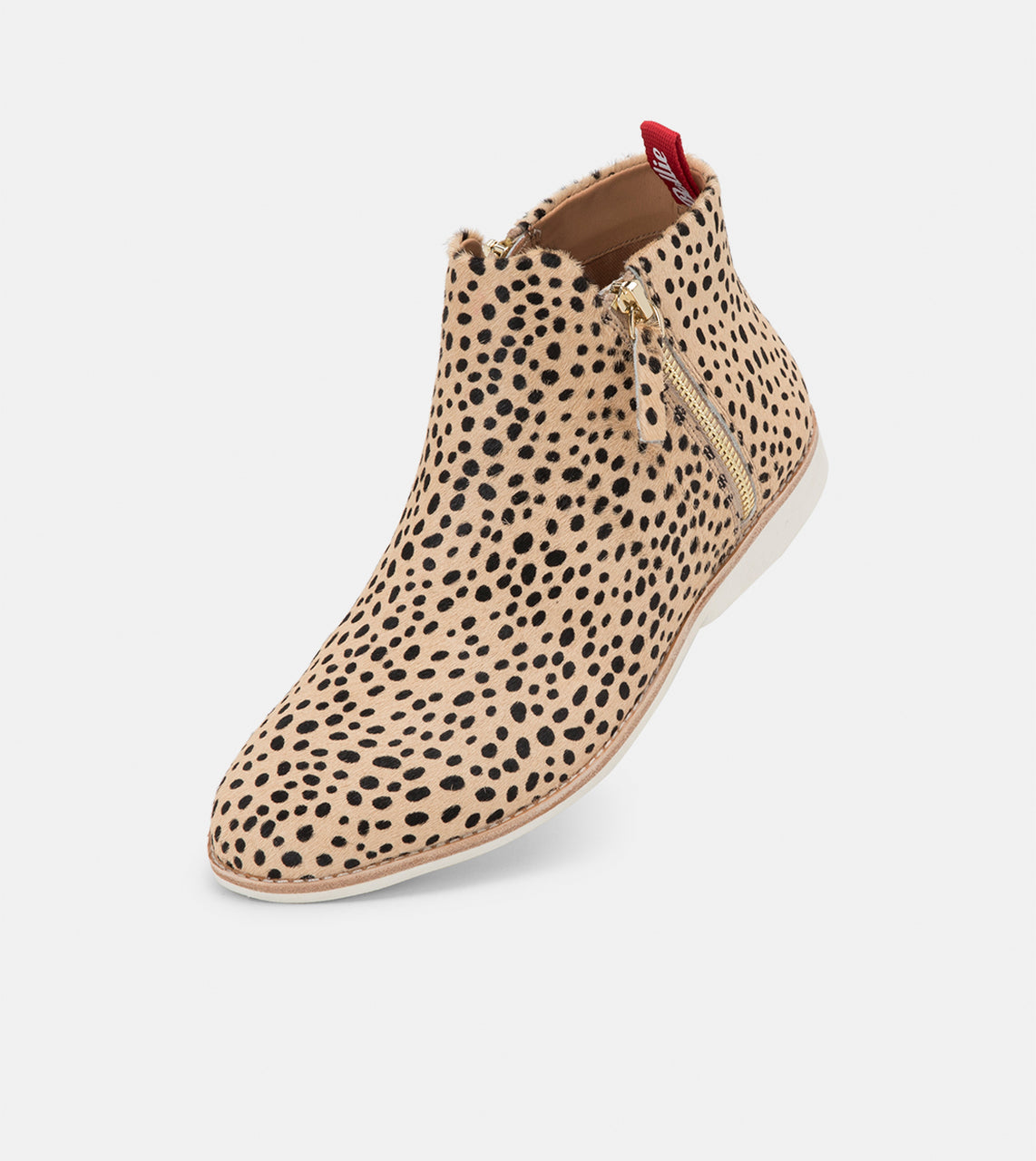 Side Zip Boot Cheetah