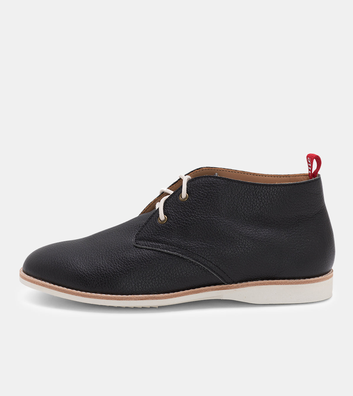 Chukka Unlined Black Tumble