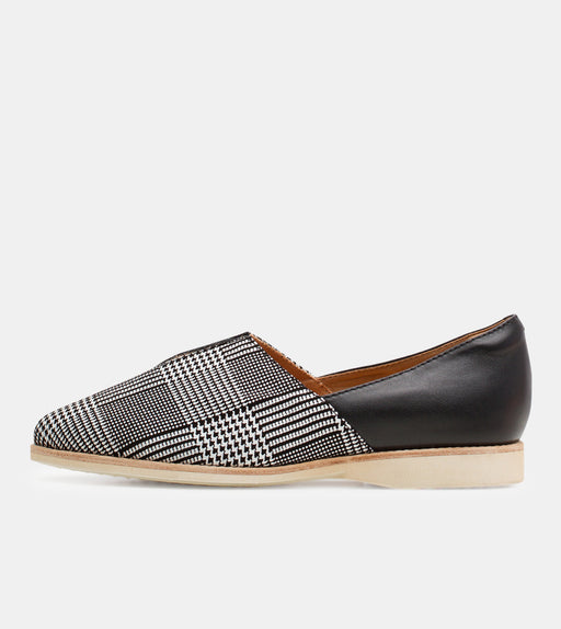 Madison V-Cut Prince of Wales Mono/Black