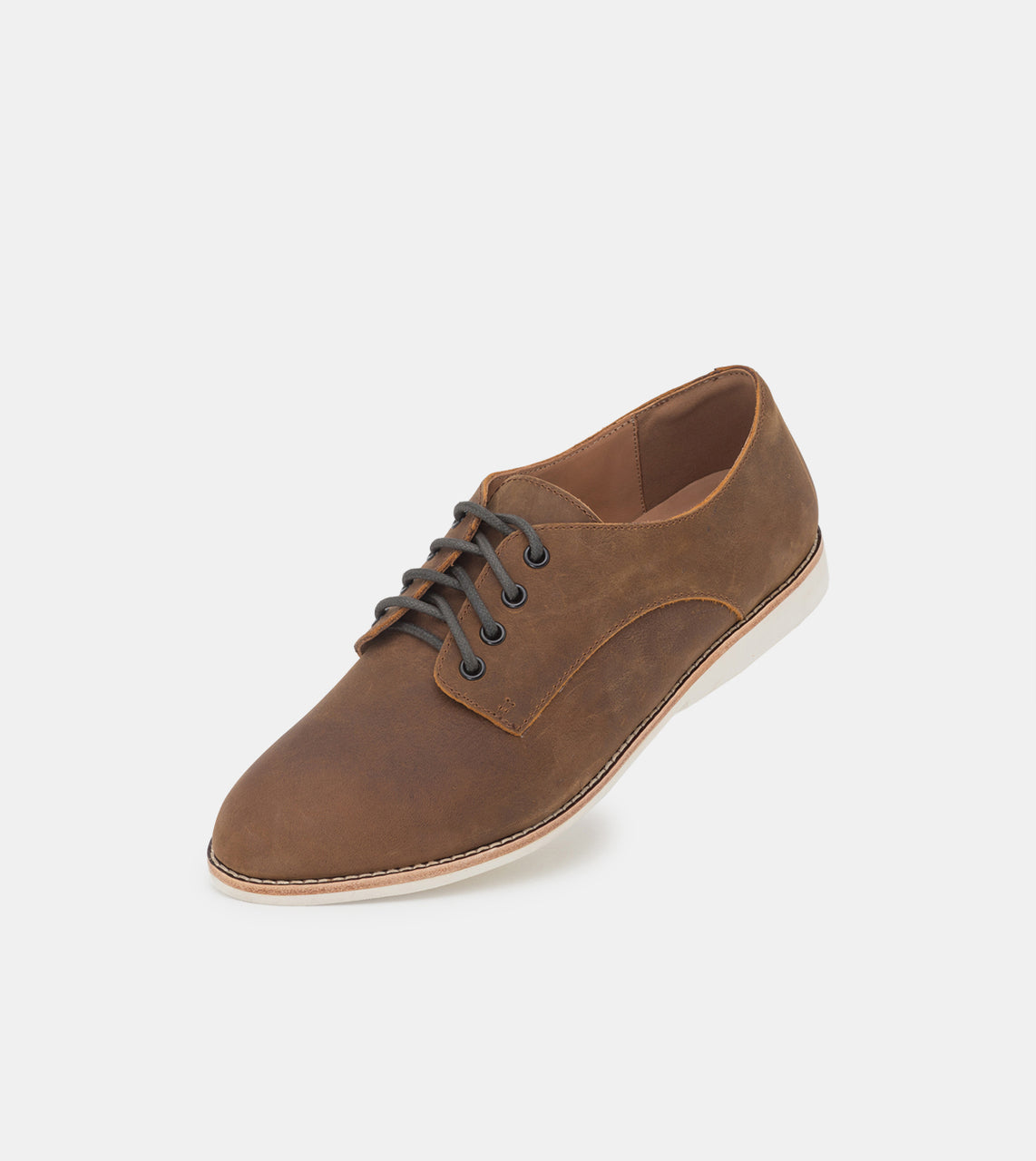 Derby Mens Coffee Distressed