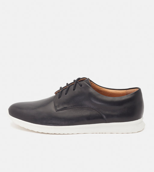 Derby Sport Mens Black Nappa
