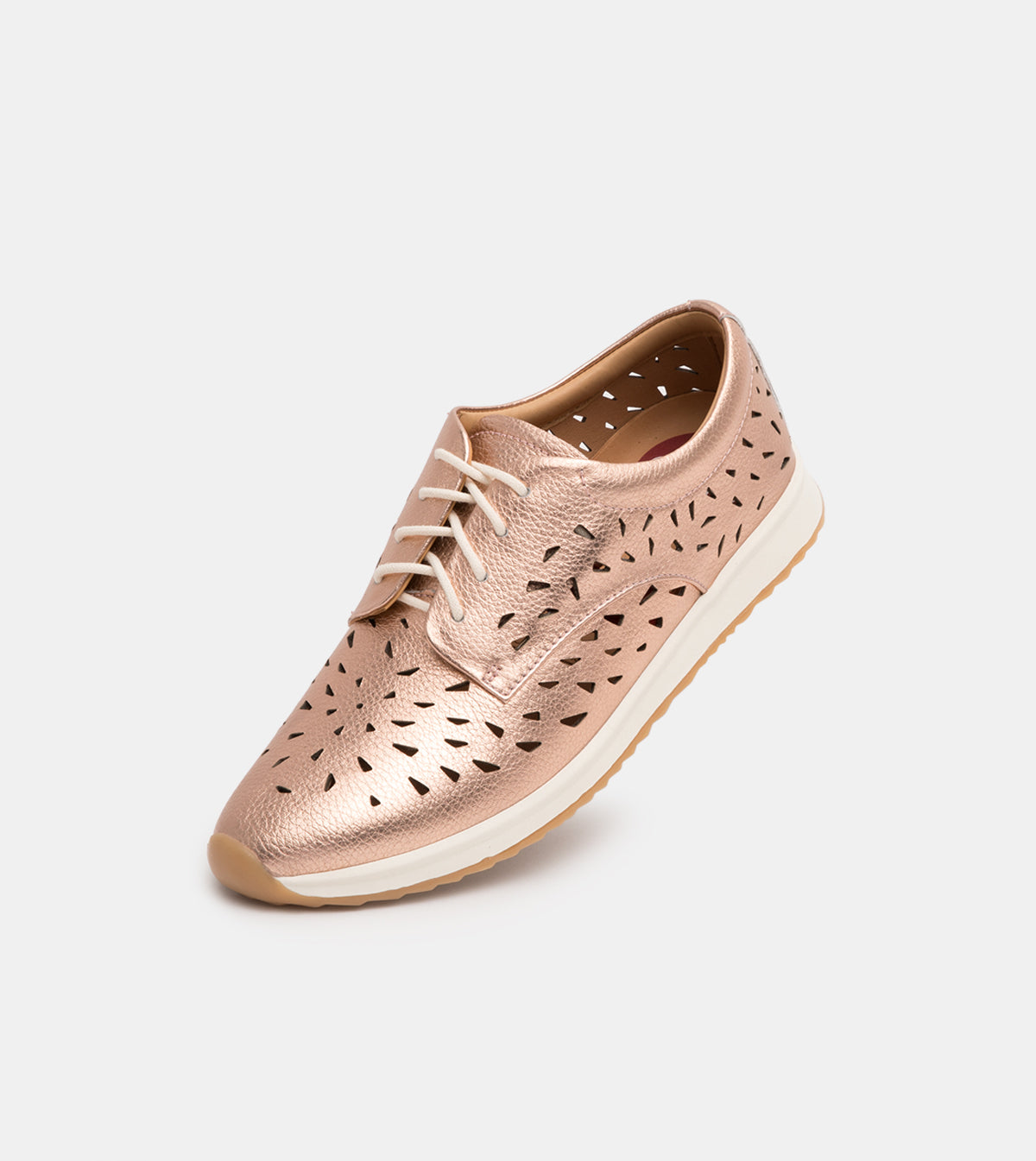 Derby Sport Laser Punch Rose Gold