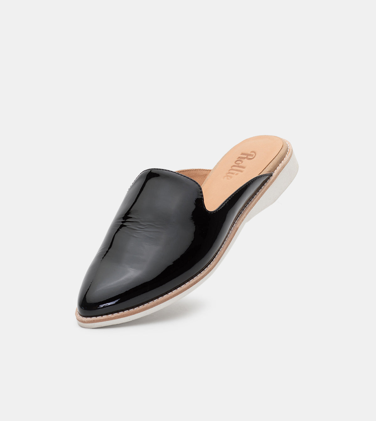 Madison Mule Black Patent