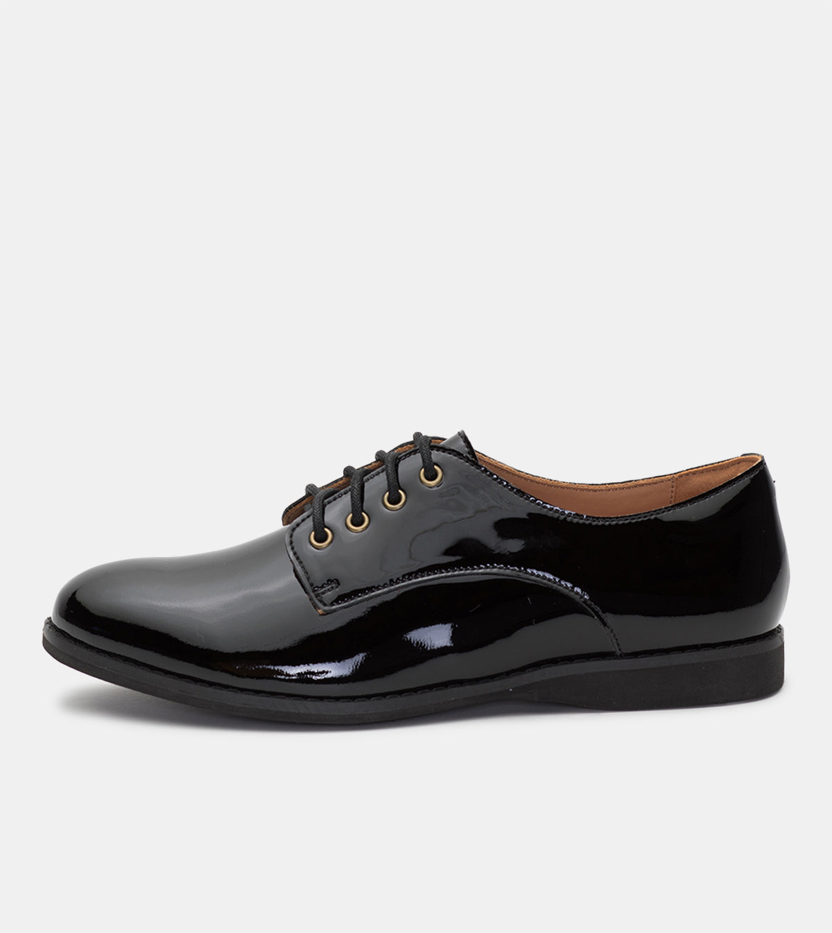 Derby All Black Patent