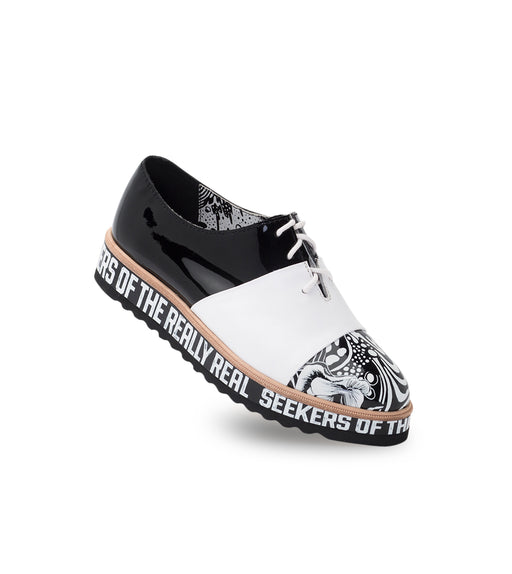 Rollie x Gemma Derby Wedge Seekers