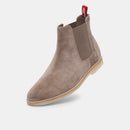Myles Chelsea Mens Light Taupe Suede