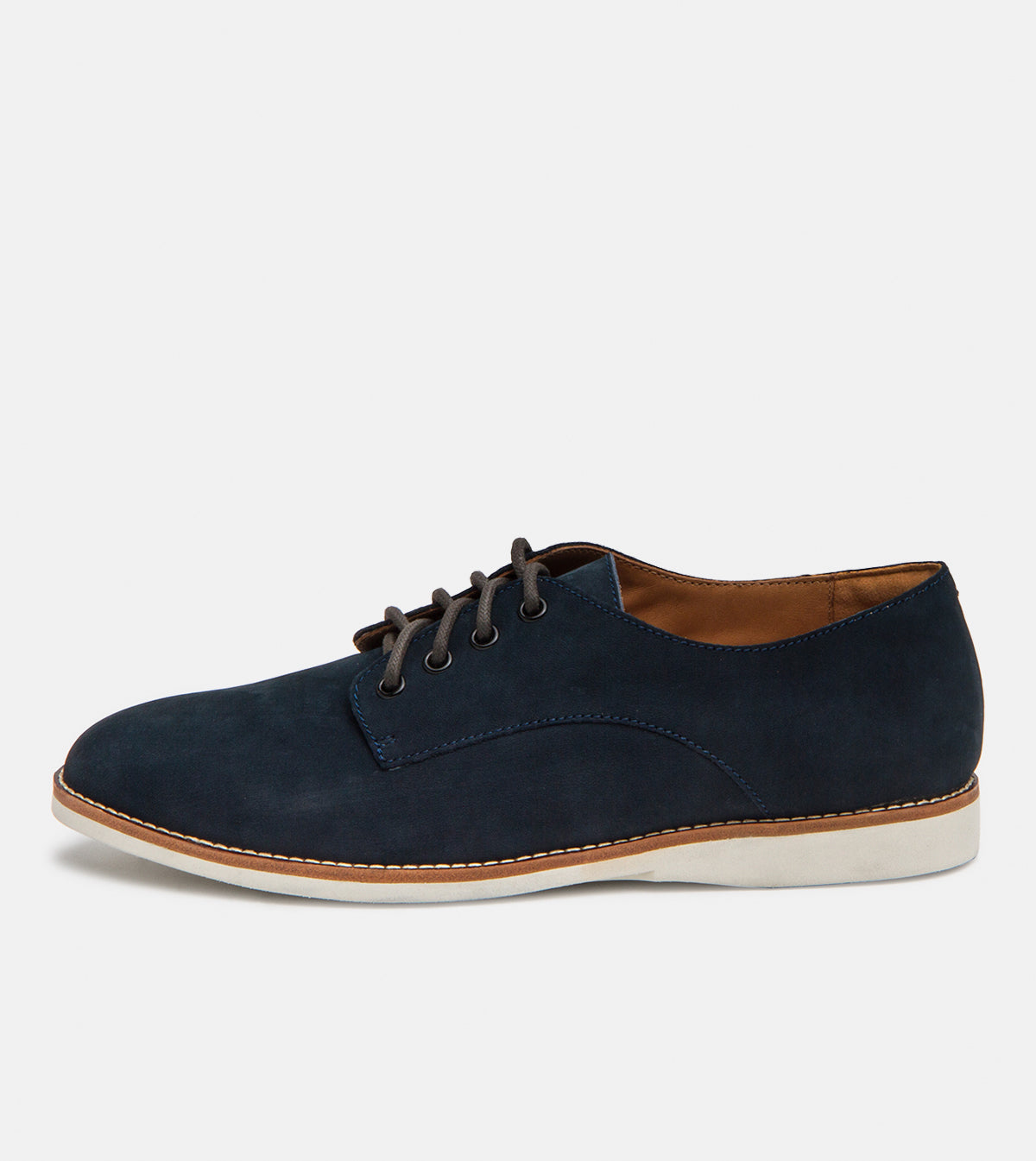 Derby Mens Navy Nubuck