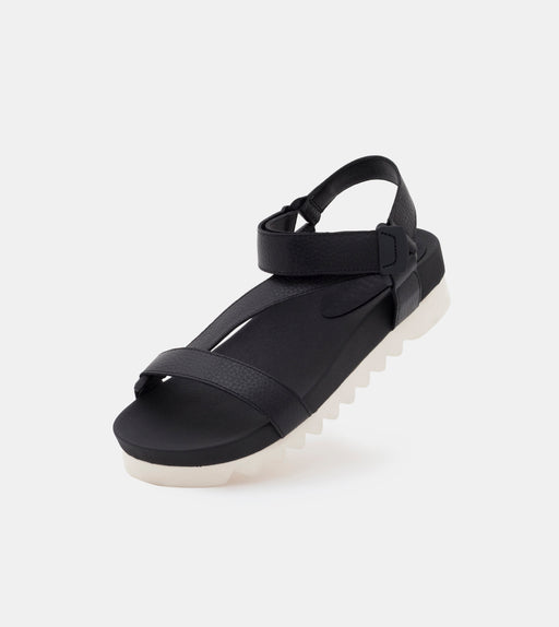 Sandal Tooth Wedge Black