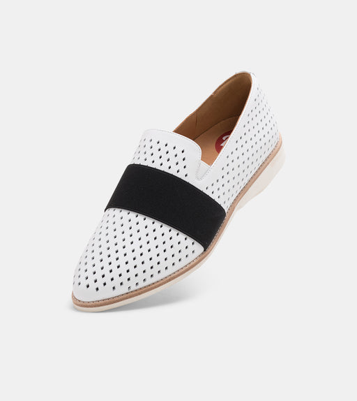 Madison Albert Overlay White/Black