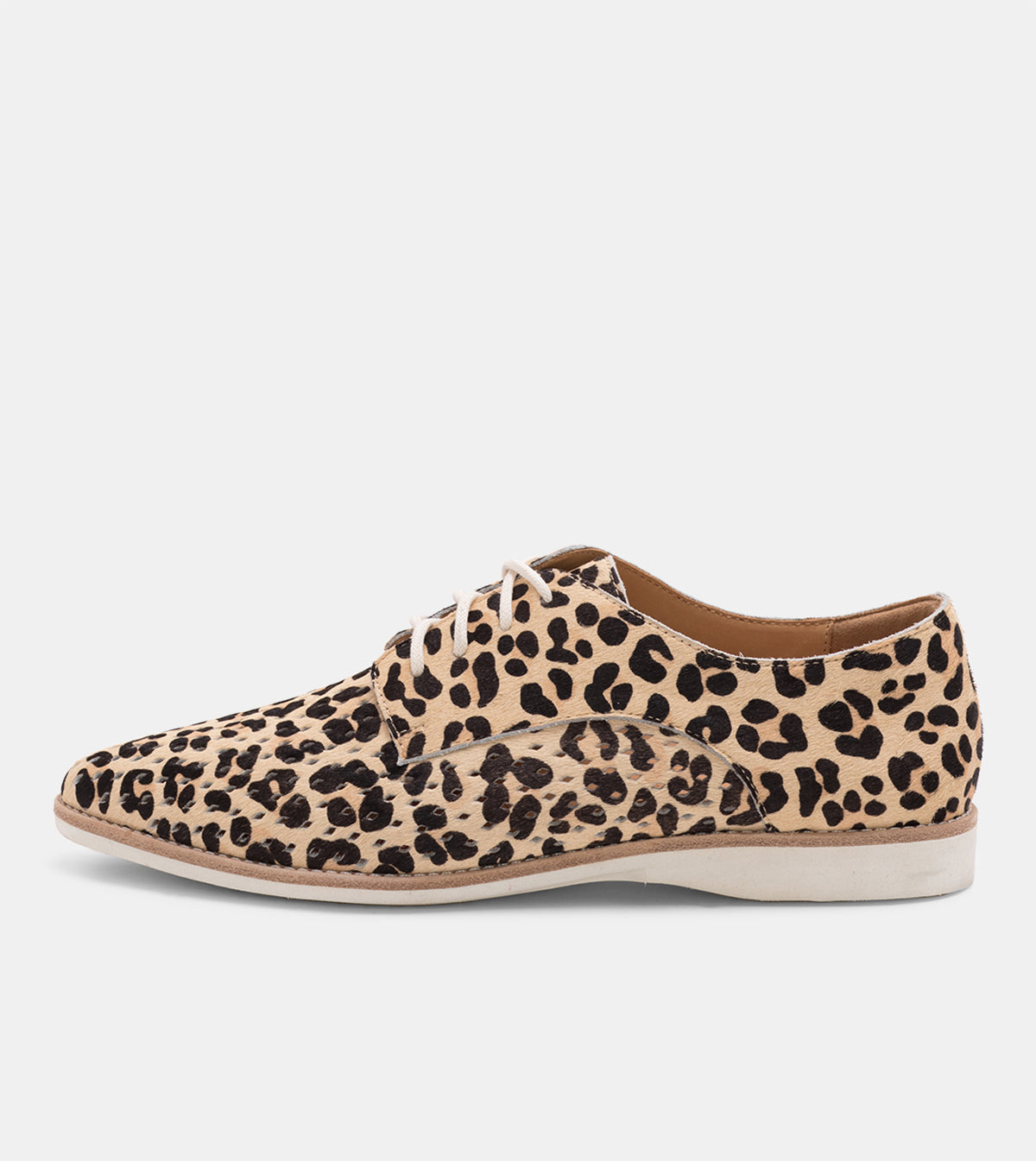 Madison Derby Punch Camel Leopard