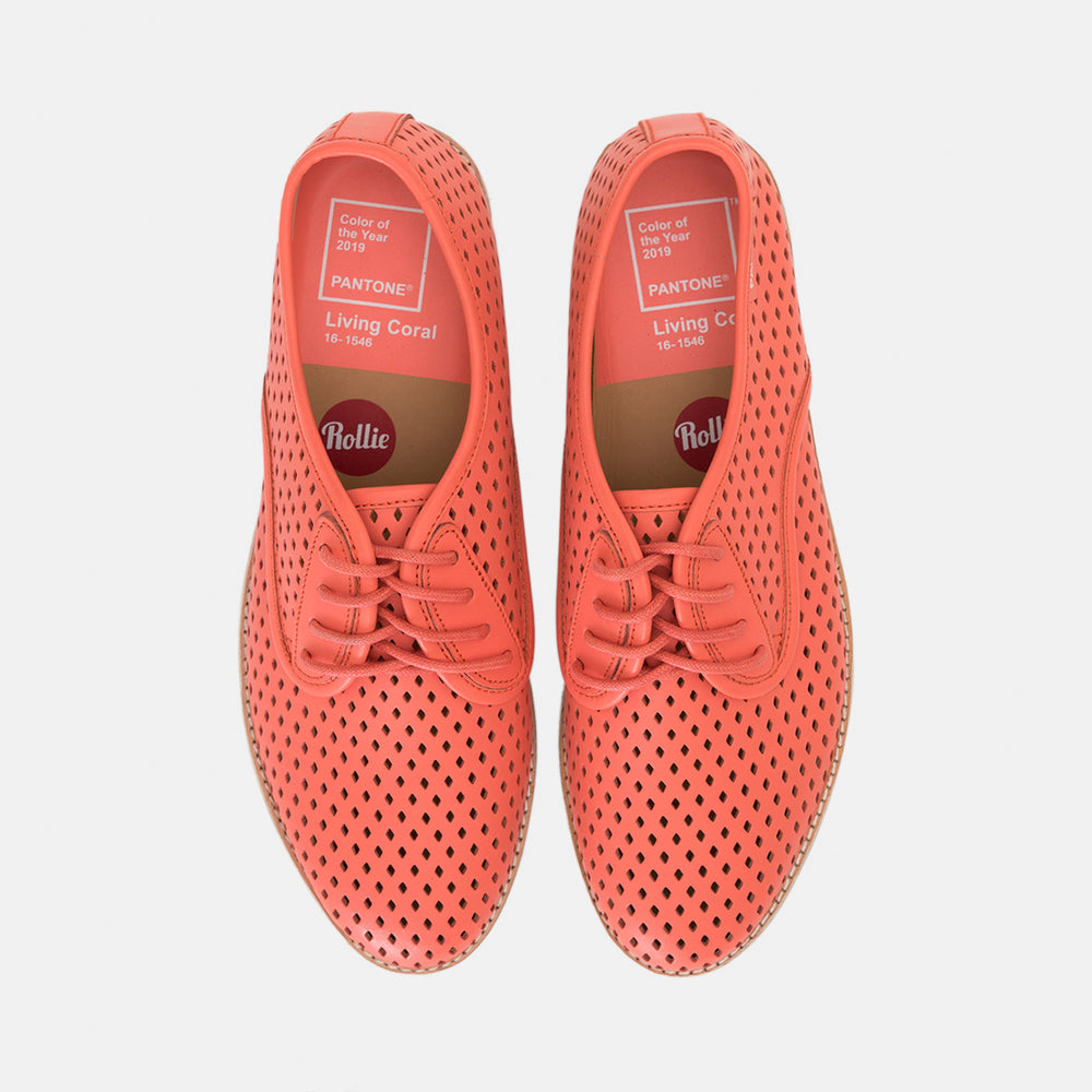 Rollie x Pantone Derby Punch: Living Coral 16-1546