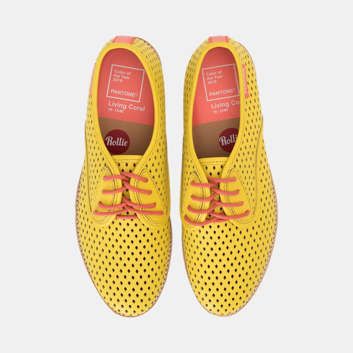 Rollie x Pantone Derby Punch: Vibrant Yellow 13-0858