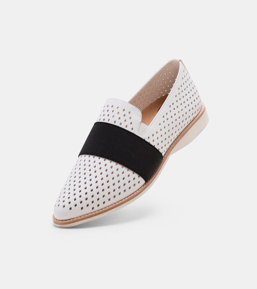 Madison Albert Strap Punch White/Black