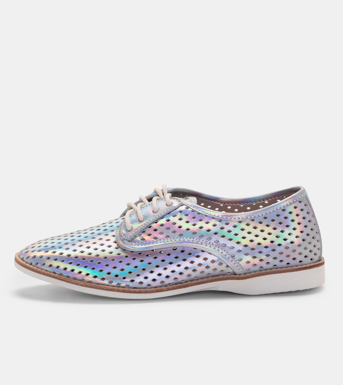 Derby Punch Holographic Silver