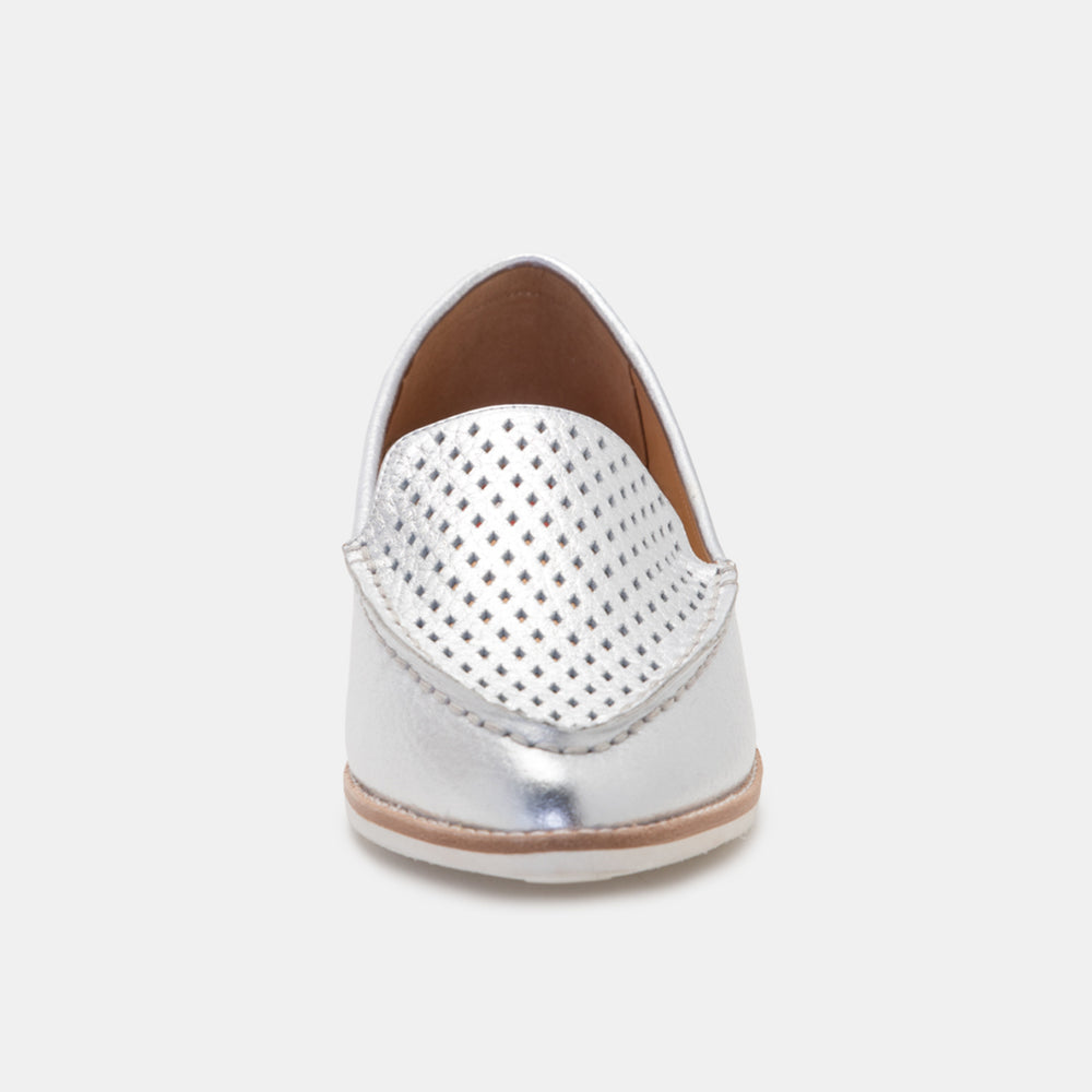 Madison Loafer Punch Silver