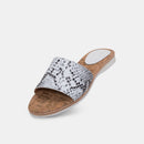 Sandal Slide Grey Snake