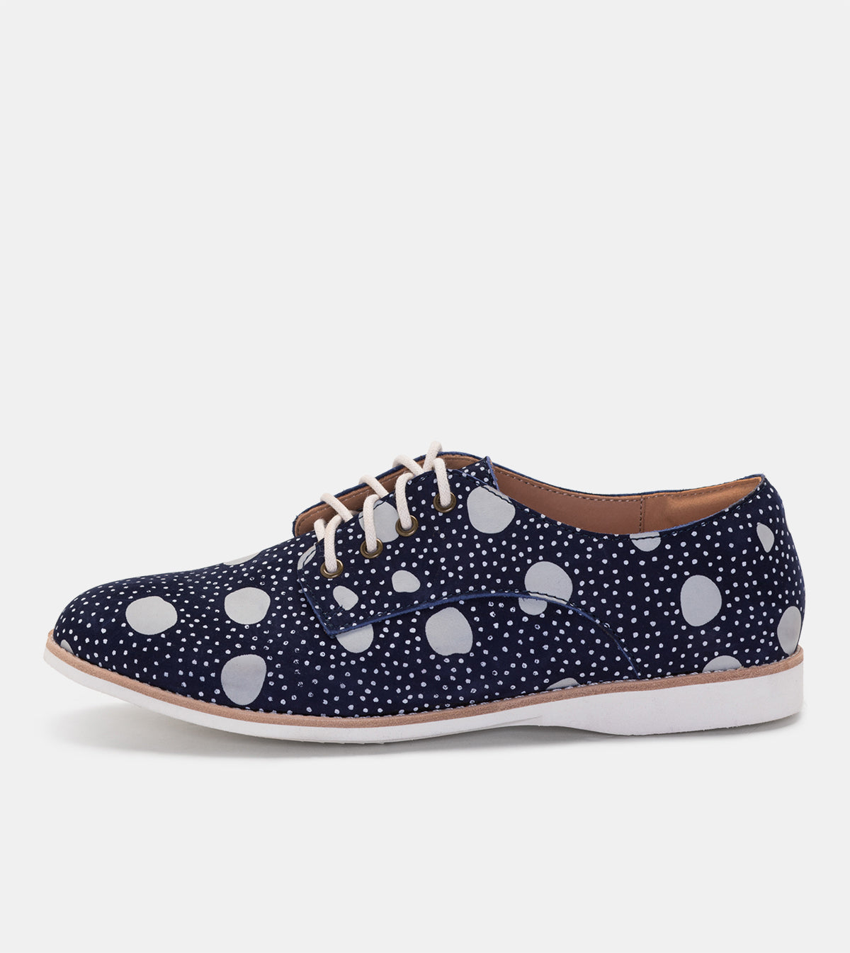 Derby Navy Artistic Dots
