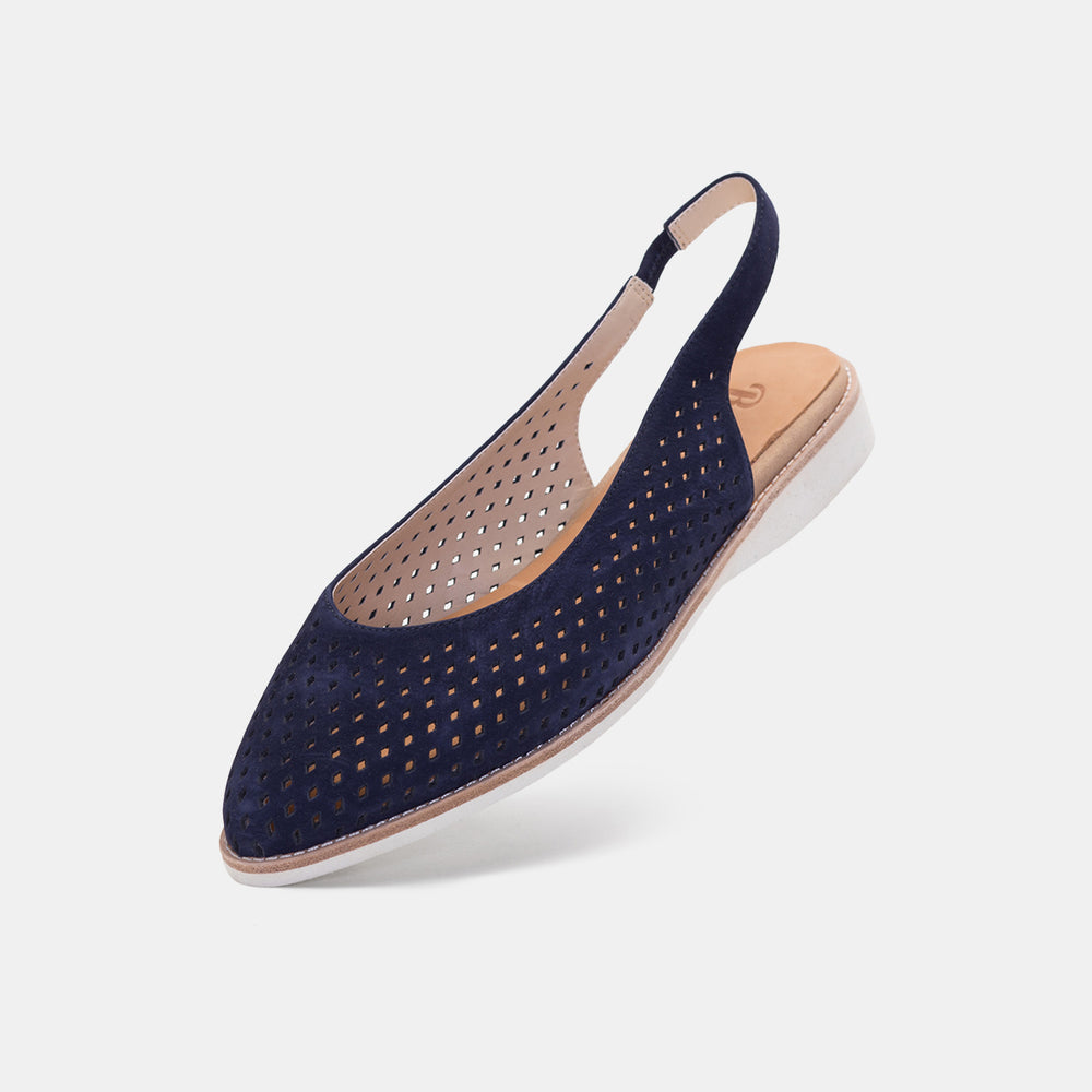 Madison Slingback Punch French Navy
