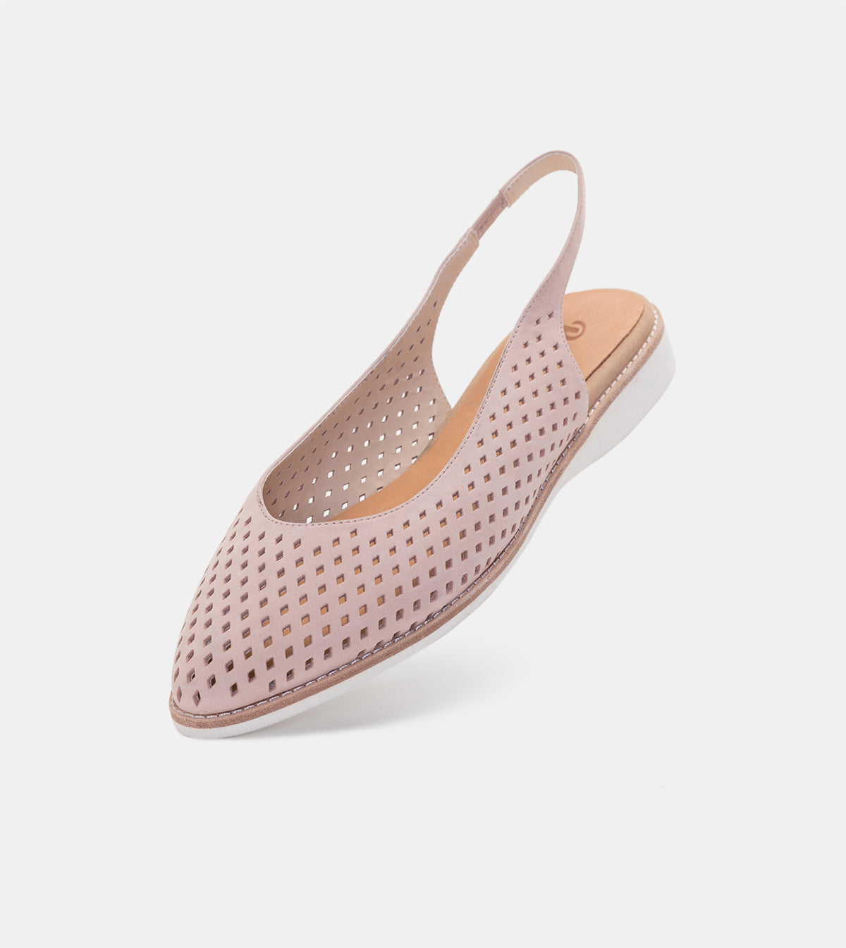 Madison Slingback Punch Snow Pink