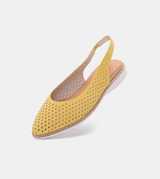 Madison Slingback Punch Yellow