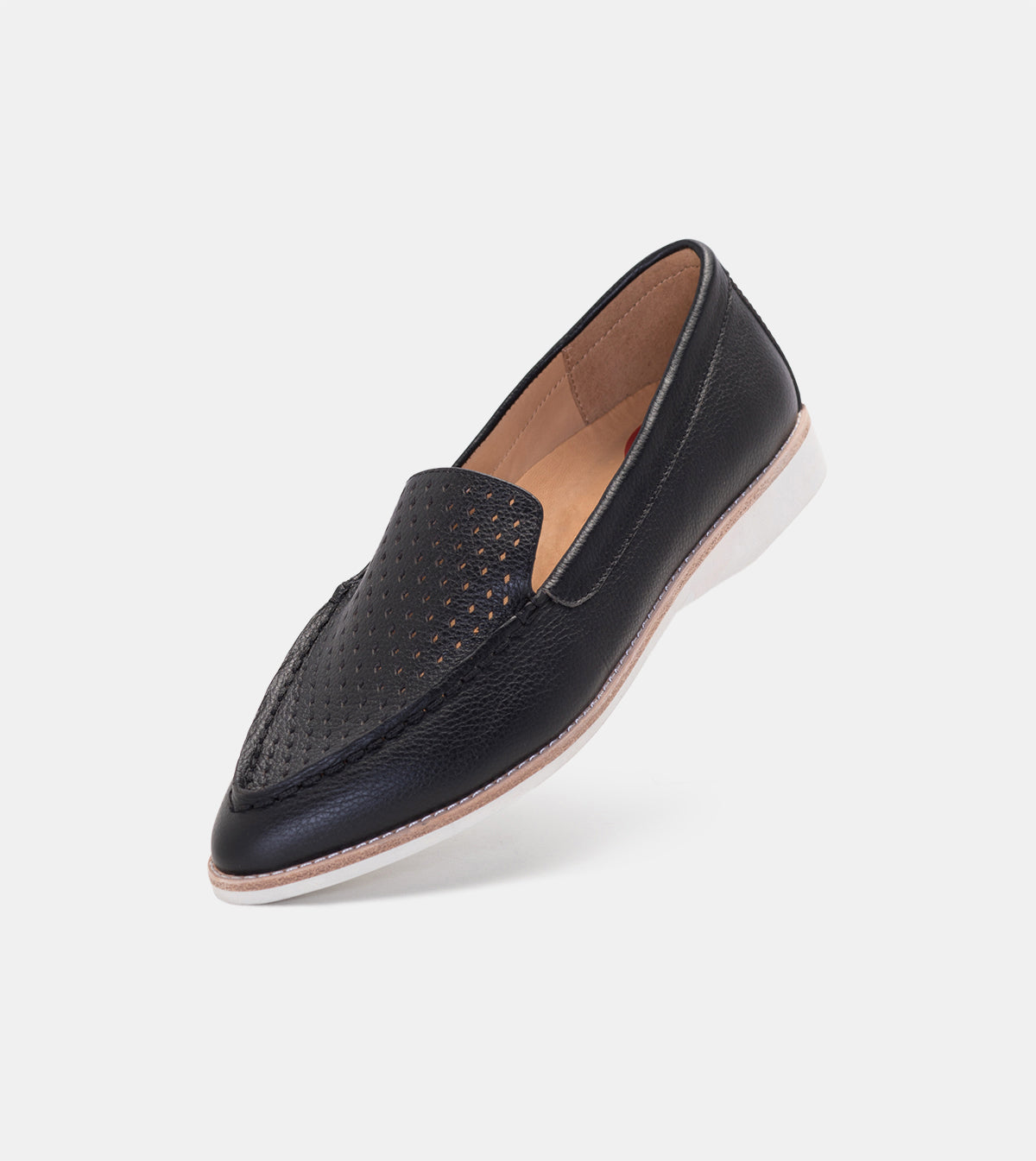Madison Loafer Punch Black