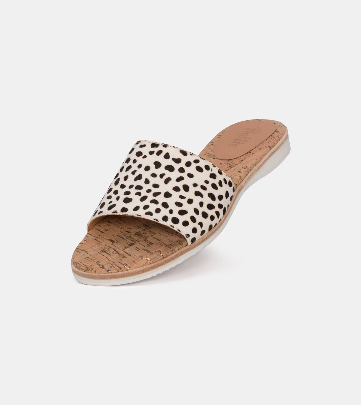 Sandal Slide Medium Snow Leopard