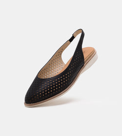 Madison Slingback Punch Black
