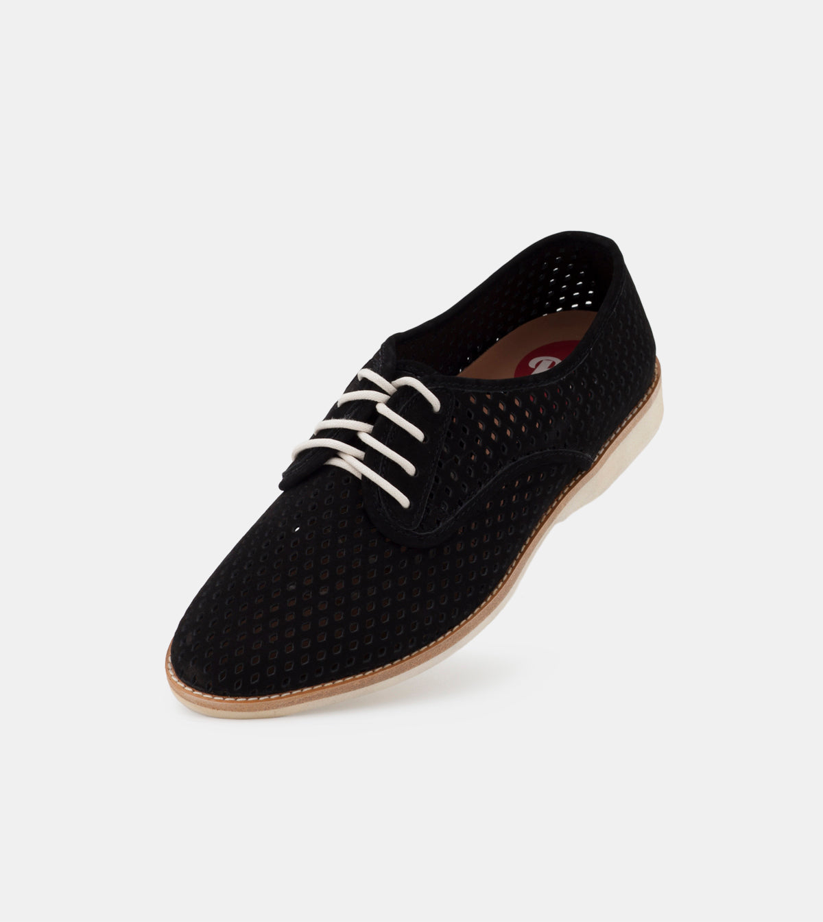 Derby Punch Black Nubuck