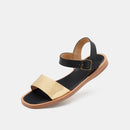 Alpha Sandal Gold/Black