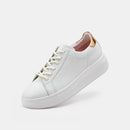 City Sneaker White/Gold