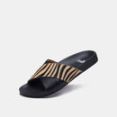 Tide Cross Slide Black Zebra