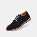 Derby Mens Navy Brick Sole