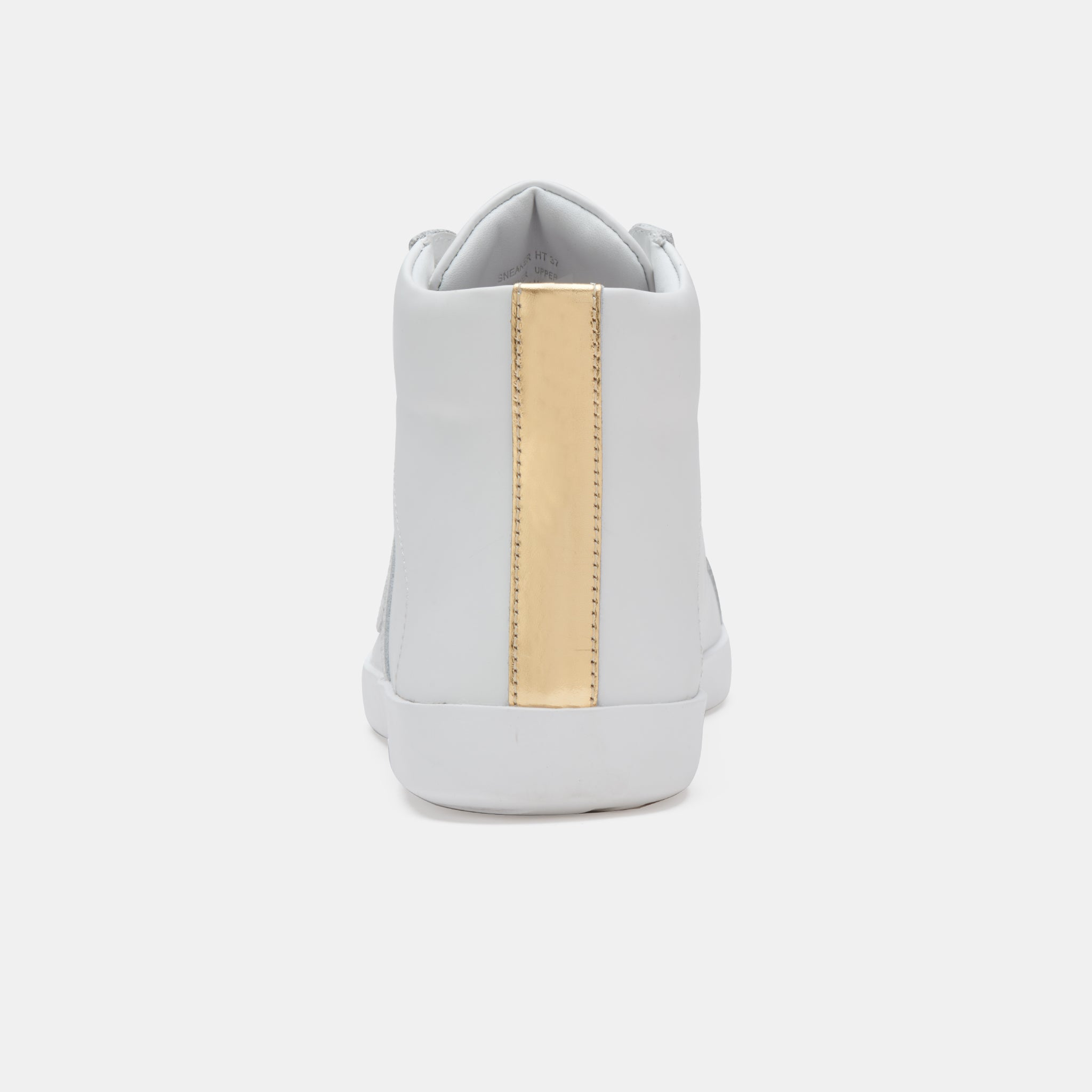 Prime High Top White/Gold