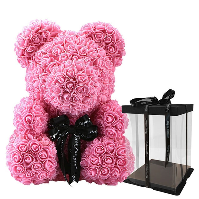 Unique Handcrafted Flower Teddy Bear™